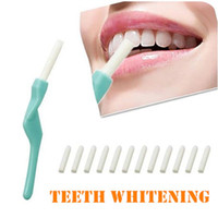 Wholesale Dental Sticks Pens - EMS free shipping Hyper Dental Peeling Stick With Erasers Teeth Cleaning Pen Interdental Brush Cleaning Teeth Tools Beauty Personal Care 970