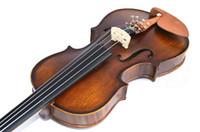 instruments de musique de violon achat en gros de-V300 Violon épicéa de haute qualité 1/8 handcraft violino Musical Instruments violon archet cordes de violon