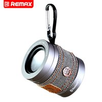 Wholesale Car Theater - Wholesale- Remax Portable Mini Subwoofer Wireless Bluetooth Speaker Theater Car Handsfree Receive Call Music Suction Mic For iPhone Samsung