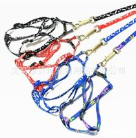 Wholesale Dog Leash Rope - New Nylon Pet dog cat Leash Lead Collar puppy Harness Rope Dog Pet Supplies free shipping