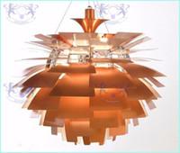 rote blase kronleuchter licht großhandel-Neue europäische Art-moderne stilvolle Einfachheit-Aluminium-40CM Poul Henningsen PH Artischocken-Deckenleuchte-hängende Lampen-hängende Beleuchtung