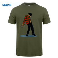 FREDDY CAN DANCE Michael Jackson Funny Design Mens T-shirt maniche corte T-shirt Tee Uomini Cool Hipster Tops Tee Camicie 6XL