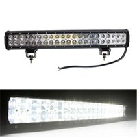 Wholesale Led Driving Light Bar Motorcycle - 20 Inch 126W LED Work Light Bar for Indicators Motorcycle Driving Offroad Boat Car Tractor Truck 4x4 SUV ATV Flood 12V