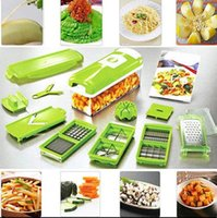 Wholesale Peeler Tool - 12 In 1 Vegetable Fruit Nicer Slicer Plus Chopper Cutter Peeler Vegetable Fruit Graters Peeler Cutter Slicer Cutting Kitchen Tool KKA2262