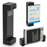 cep telefonu rıhtımı toptan satış-Evrensel Ekstra Pil Şarj Mini USB Cep Telefonu Yedek Ekstra Pil Şarj Dock Cradle YENI