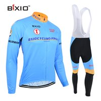 Wholesale Womens Size Cloths - BXIO Brand Cycling Jerseys New Comming Womens Cycling Clothing Long Sleeve Fall Cycle Cloth Full Zipper Blue Bicycle Suit BX-016