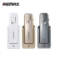 Wholesale Bluetooth Base - Remax RB-T6 Long Standby Wireless Bluetooth Headset Music Headphone Car Driver Handsfree Earphone With Intelligent Charging Base