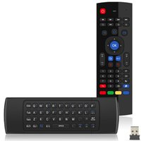 Wholesale g mouse for sale - Group buy 2017 MX3 Wireless Keyboard Air Mouse Remote G Sensing Gyroscope Sensors MIC Combo MX3 M For MXQ M8S M95 S905 RK3229 Gear Android TV BOX