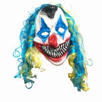 Wholesale Ghost Mask Toys - Halloween Latex Mask Ghosts Funny Clowns Ghosts Horror Scary Fancy Dress Masks for Adult Funny Toys