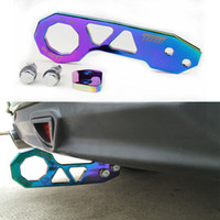 Wholesale Neo V - Hot Sell Neo Chrome Aluminum Rear Tow Hook With Logo Fit For Universal Vehicle In Stock