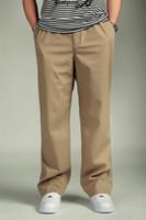 büyük erkekler kargo pantolon toptan satış-Artı Boyutu Hip Hop Giysileri Tam Boy Relexed Yeni Gevşek Pantolon Rahat Moda Büyük Yağ Erkek Kargo Pantolon Erkek Rahat Pamuk Adam Pantolon