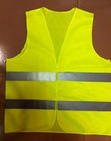 Wholesale High Vis - Vis High Visibility Working Safety Construction Vest clothing warning Reflective traffic working Vest Safety security Clothing waistcoat DHL