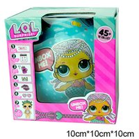 Wholesale Plush Baby Ball - LOL Supress Doll Lil Outrageous 7 Layers Surprise Ball Sister Series 2 Dolls let be friends Action Figures Girl's Baby Dolls free shipping