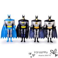 Wholesale Dc Unlimited - 5 Sets lot 4Pcs set 5inch 12.5cm DC Universe JLU Justice League Unlimited Batman Loose Action Figures Toys Free Shipping