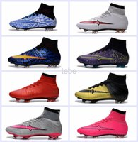 Wholesale Indoor Soccer Shoes Free Shipping - 2016 Men Magista Obra FG Soccer Boots CR7 Cleats Laser Men's Football Shoe Soccer Shoes Size 39-45 Free Shipping