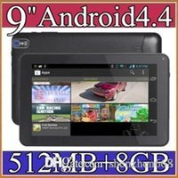 Wholesale tablet quad built online - DHL quot inch build in flashlight Google Android Allwinner A33 Tablet PC bluetooth support Quad Core WiFi DUAL CAMERA B PB