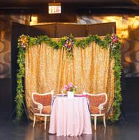 ingrosso tende per sfondi per matrimoni-Spedizione Gratuita 4FT * 6FT Paillettes Photography Sfondo Per Matrimoni Ed Eventi Scintillanti Sfondo Per Photobooth Tenda Per Fondale
