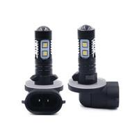 Wholesale 881 bulb online - Automotive Refit Car SMD LED Fog Light Universal High Power Driving Bulbs waterproof fog lights White V