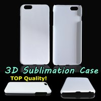 Wholesale Wholesale Iphone Blanks - DIY 3D Sublimation Case Glossy Matte White Blank Transfer Cover For Iphone 5S 6 6S Plus Samsung S7 Edge Full Area Heat Printable TOP Quality