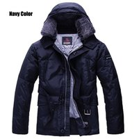 Wholesale Italian Jackets For Men - italian peutery hurricane down jacket for man peu hurricane coat parka with removalbe fur collar