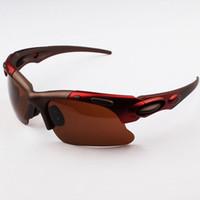 велосипедные солнцезащитные очки uv оптовых-Велоспорт очки велосипед свободного покроя спорта на открытом воздухе велосипедов солнцезащитные очки UV 400 С велоспорт бесплатные sunglasse м shipping06