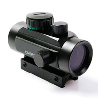 telescópios ópticos venda por atacado-1X40 Tactical Holográfico Red Green Dot Rifle scope Vista Para 11mm / 20mm Picatinny / Weaver Mount Mira Óptica Scope Red Dot Scope
