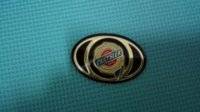 Wholesale Carbon Fiber Pricing - Factory Wholesale Price 2008-2010 Chrysler 300C Town & Country Gold Front Grille Emblem Badge Medallion+free shipping