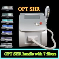 Wholesale Laser Treatment Machines - Portable SHR IPL laser hair removal machine Most Popular SHR IPL laer hair removal machine spa equipment