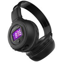 Wholesale wireless micro microphone bluetooth for sale - Group buy B570 HiFi Stereo Bluetooth Headphone Wireless Headset With Microphone Support FM Radio Micro SD Card Play