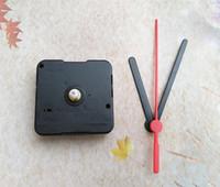 kits de mecanismos de relógio venda por atacado-Setas de plástico com movimentos de quartzo clockwork relógio de parede mecanismo de reparação diy kits de ferramentas