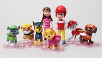 Wholesale Wholesale Toy Prices - 2017 new arrival 8pcs set pet PVC Action Figures Toys 5-10cm cute action figures for Kid Figures Model Toy wholesale price