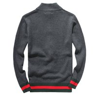Wholesale polo sweater women - Free shipping 2017 hot new g high quality mile wile polo brand men's twist sweater knit cotton sweater jumper pullover POLO G sweaters men