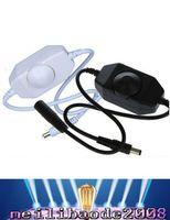 Wholesale Black 335 - New 12V LED Brightness Adjust Dimmer Controller for 335 3528 5050 5630 LED Light Strip Lamp Hot MYY
