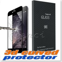 Wholesale Iphone Design Screen Protector - iPhone 6S Screen Protector 3D Curved Tempered Glass Edge Design No-gap Protection, 3D Touch Compatible Screen protector for iPhone 6 6S Plus