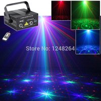 Laser Stage éclairage RGB gros-Remote Mixage Effet DJ Accueil Party Light show Full Color Professional réglable Bar Club 2 verres
