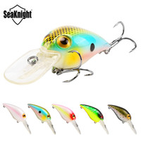 Wholesale chubby fishing - Seaknight Crankbait Fishing Lure Set 5Pcs Lot 50Mm 11G 0-1.8M Floating Lure Crank Mini Lure Chubby Carp Fishing Baits Fish