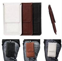 Wholesale Note Holster Wallet - Multi-function Business Classical Waist Bag for Samsung Galaxy Note 3 Note4 Belt Clip Pouch Holster Case Cover Phone Bag XCT7