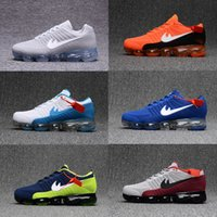Wholesale Free Green Products - High quality New Running Shoes Air Cushion 2018 Men Women Vapormax Product Hot Sale Breathable Outdoor Sneaker US 7-11 Free shipping
