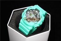 Wholesale Blue Lake - BABY #12 Lake blue AAA top quality female wristwatch G watch all functions Sports watch with box with mannual 1pcs dropshipping