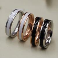 центр моды оптовых-Мода из нержавеющей стали группа кольца Титана кольцо центр прохладный черный для мужчин Ladise bague ювелирные изделия Рождественский подарок