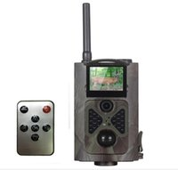 Wholesale Rohs Video - Suntek HC500M HD Hunting Trail Camera HC-500M for Wildlife Photo Trap Night Vision Infrared Motion Hunting Video Camera CE ROHS