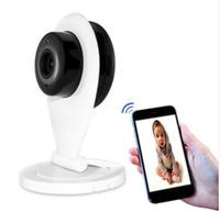 câmeras sem fio venda por atacado-720 P HD Sem Fio Mini Wifi IP Câmera Inteligente P2P Baby Monitor de Rede CCTV Security Camera Home Protection Remoto Móvel Cam