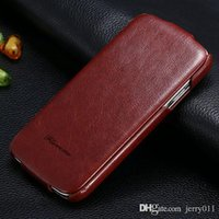 Wholesale S4 Flip Case Logo - Luxury Retro PU Leather Crazy Horse Full Case For Samsung Galaxy S4 S IV i9500 Flip Cover Open Up And Down Fashion LOGO Case