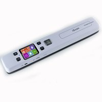 Portable Scanner speed cmos - High Speed Portable Scanner A4 Size Document Scanner DPI JPG PDF Support G TF Card Mini Scanner Pen