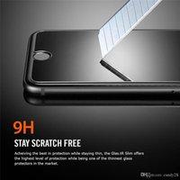 ingrosso bordo ultra sottile samsung s6-Pellicola di vetro temperato 2.5D 9H per iphone7 7plus 6 6S plus Samsung S7 EDGE S6 S5 NOTE7 5 4 Pellicola protettiva di schermo ultra sottile per G530 LG 0.3mm