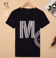 Wholesale Low Price Shirts Free Shipping - Lowest price high quality men's t-shirt round neck t-shirt free shipping