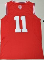Wholesale College Wears - 2016 new men Indiana Hoosiers Yogi Ferrell 11 College Basketball Jersey - Red,Wholesale discount cheap mens Athletic Outdoor Basketball Wear