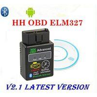 Wholesale Automobile Instruments - Mini ELM327 Bluetooth OBD2 V2.1 Diagnostic Instrument for Automobile Fault Scanner Diagnostic tools supports multi-language