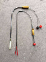 Wholesale Door Eye Hole - 2pcs set ZC Peep Hole Open Manipulator Civil Locksmith Tool Cat Eye Lock Pick Tools pick lock for door opener