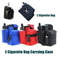 Wholesale Bags Cigarettes Fashion - Fashion Portable E Cigarette Bag Carrying Case for Kanger Dripbox smok priv 220w starter kit Innokin Coolfire IV 100w Kit DHL Free FJ704